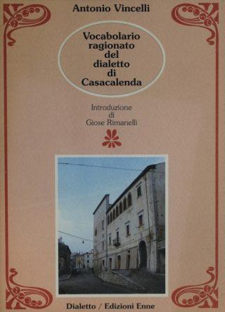 Copertina del Vocabolario ragionato del dialetto di Casacalenda, Edizioni Enne